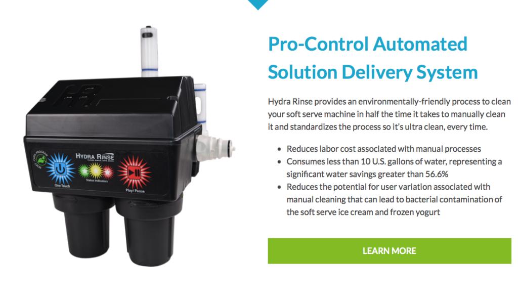 Hydra Rinse Automation